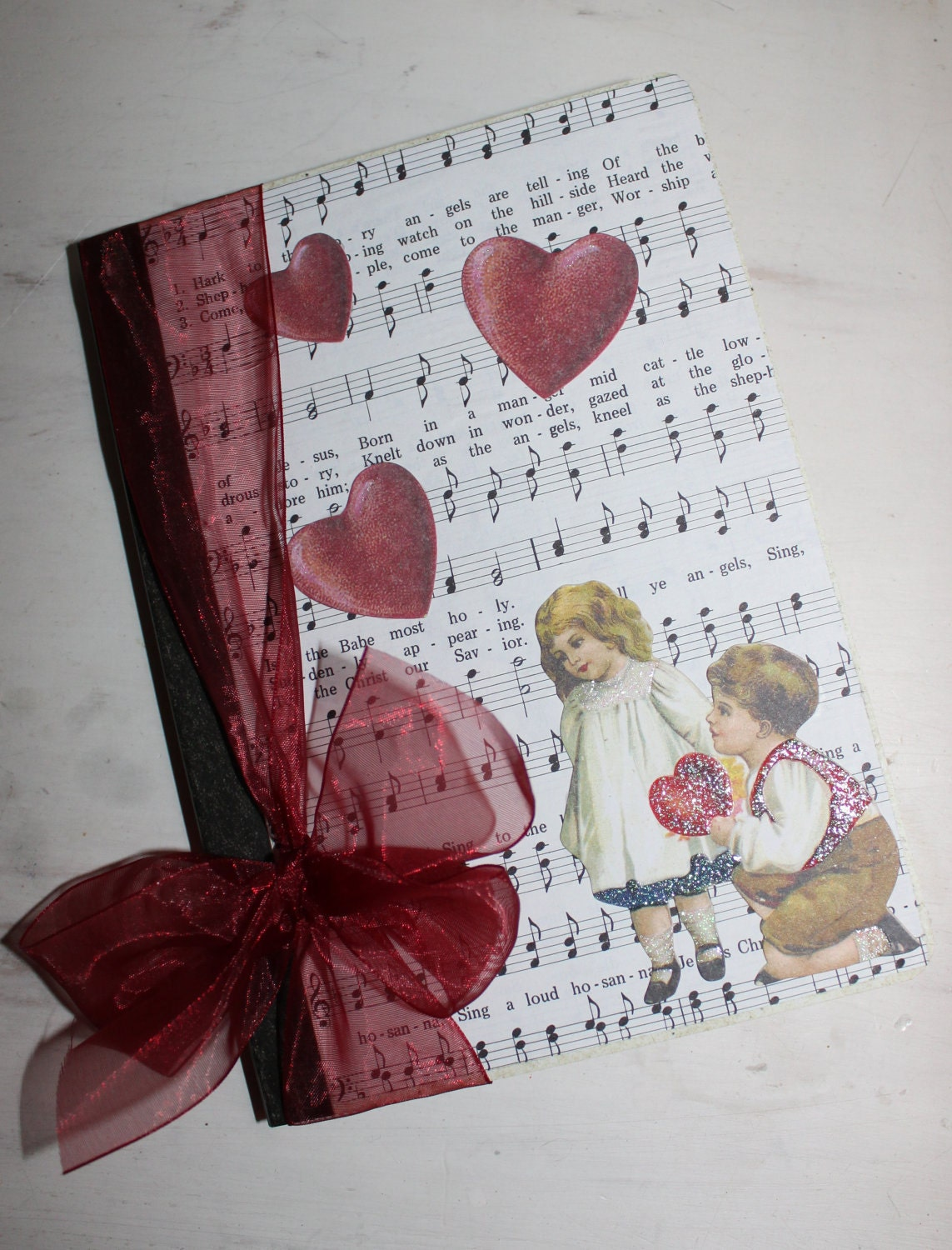 "Valentine Journal ""Be Mine"""