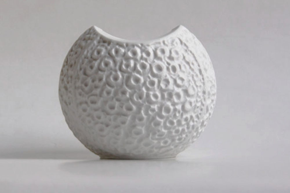 Vintage Bisque  Vase- Heinrich (2) - 1001vintage