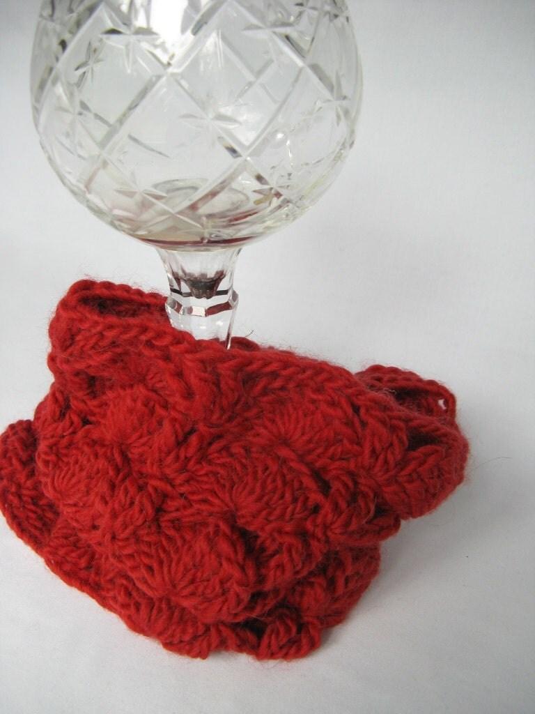 Peacock Crochet Neck Warmer - PATTERN