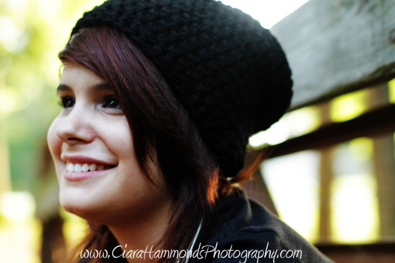 bohoknits: Belugah Slouch Hat and Beanie