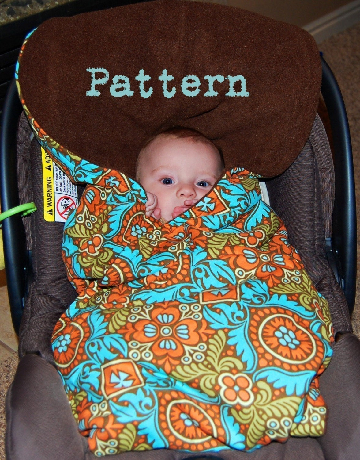 Baby Car Carrier and Stroller Covers by Turtle Toppy ™.