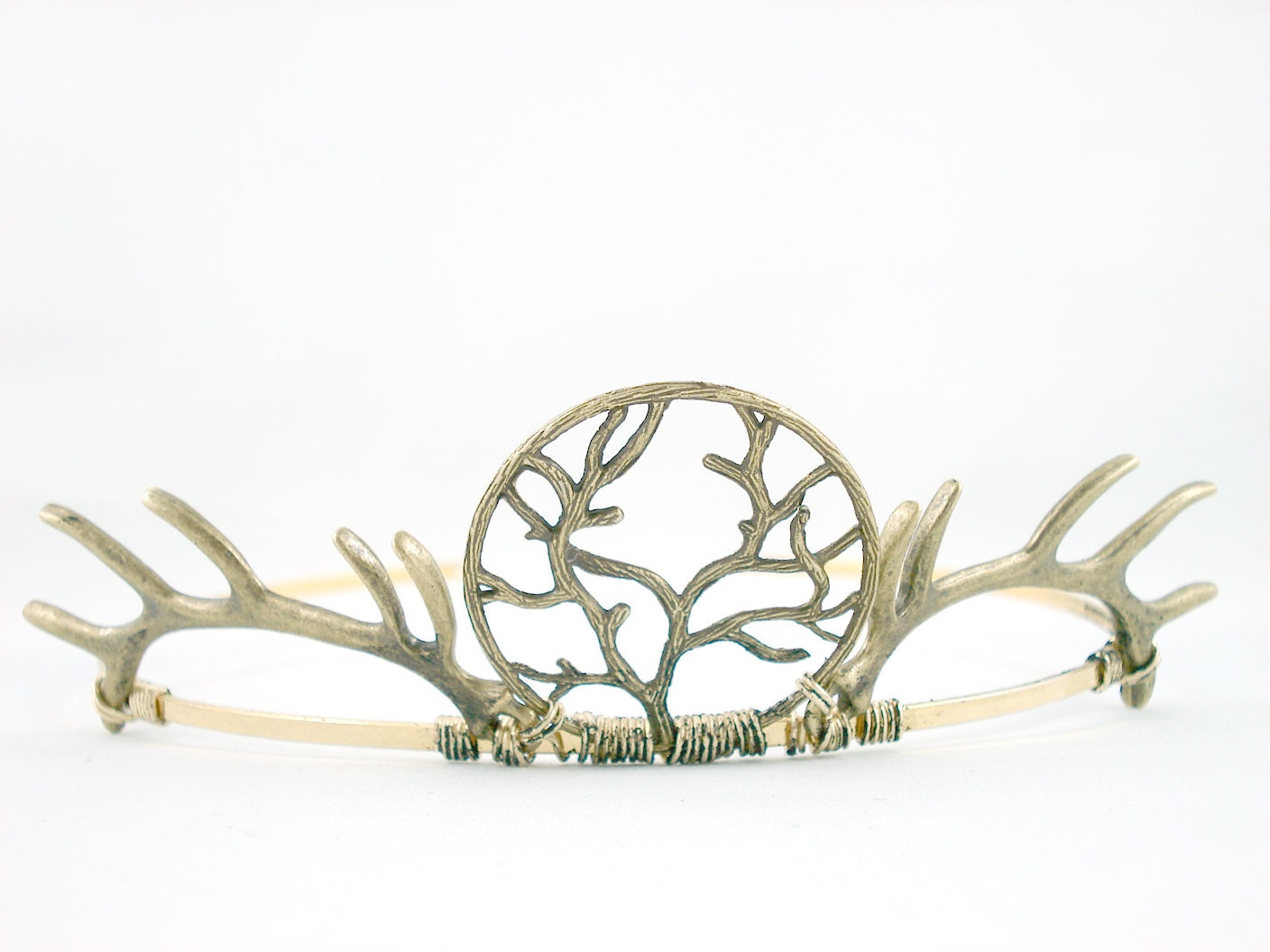 House Baratheon - Antique Golden Antler Crown - Made to Order - angelyques