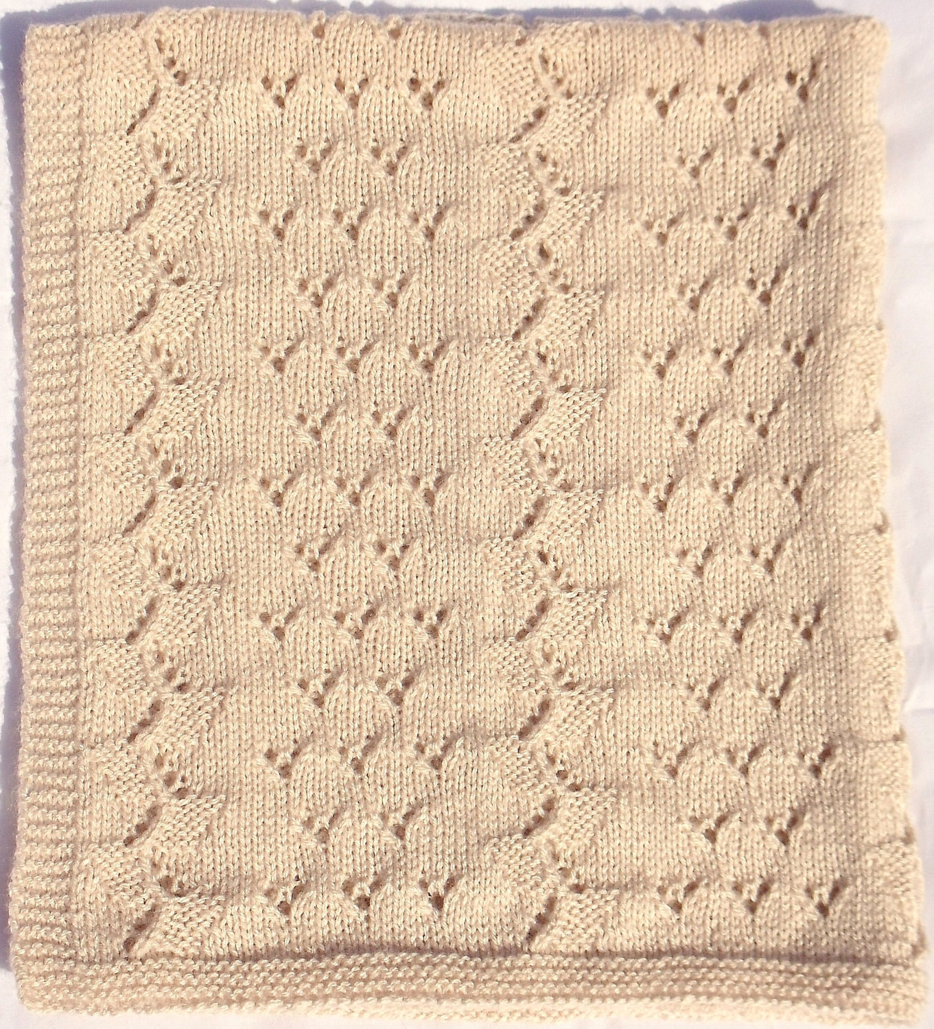 Baby Blanket Knitting Patterns Free Beginners - Knitting Patterns Free
