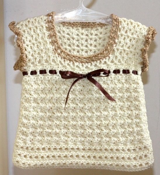 Cute Crocheted Vest - Better Homes and Gardens - Home Decorating