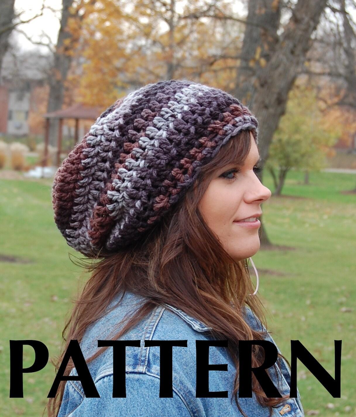 CROCHETED BEANIE HAT PATTERN Crochet Projects