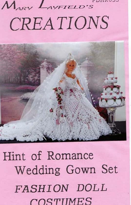 Marquise\'s blog: Crochet Barbie Doll Wedding Dress Mary Layfield 39s ...
