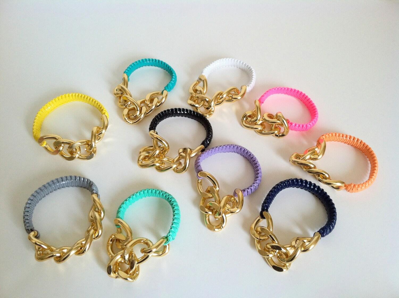 Wrist Soiree: Jada Bracelet Grey (GOLDTONE)