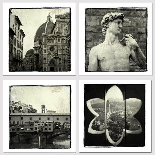 Коллекция Флоренции - Флоренция стока - художественной фотографией - Италия Декор - Италия Тоскана фотографии
