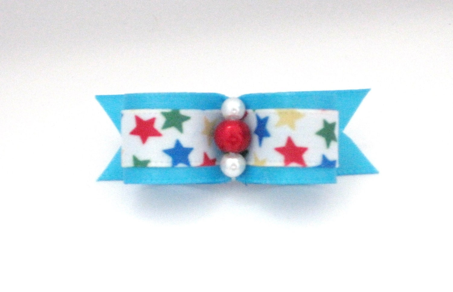 Little 4th of July Dog Bow