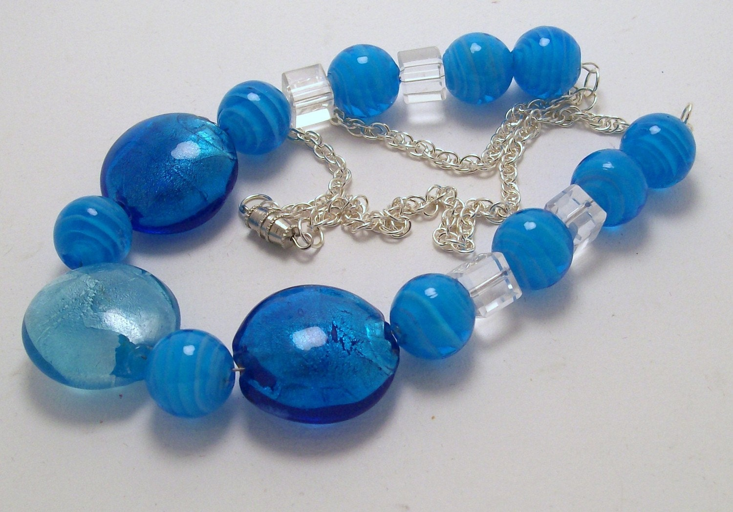 Caribbean Blue Necklace