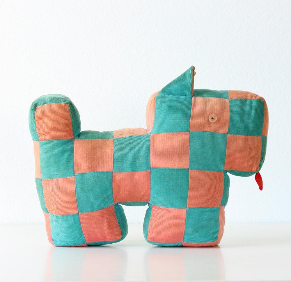 Vintage Patchwork Dog - bellalulu
