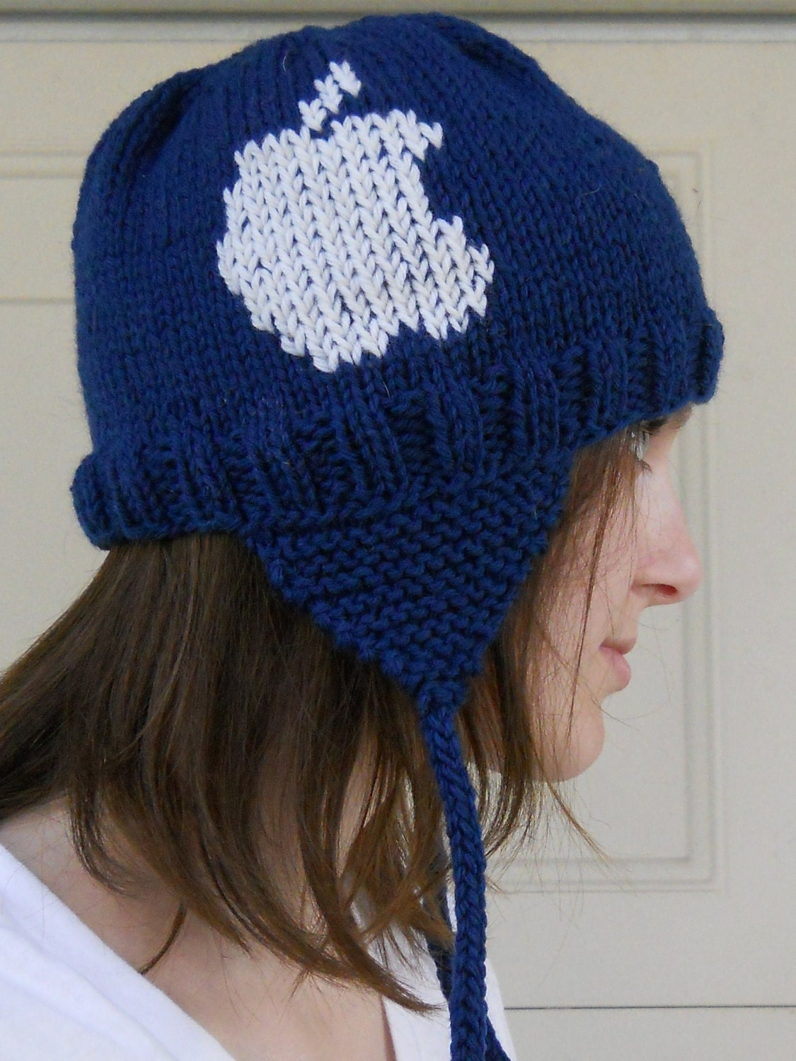 Apple Logo Earflap Hat