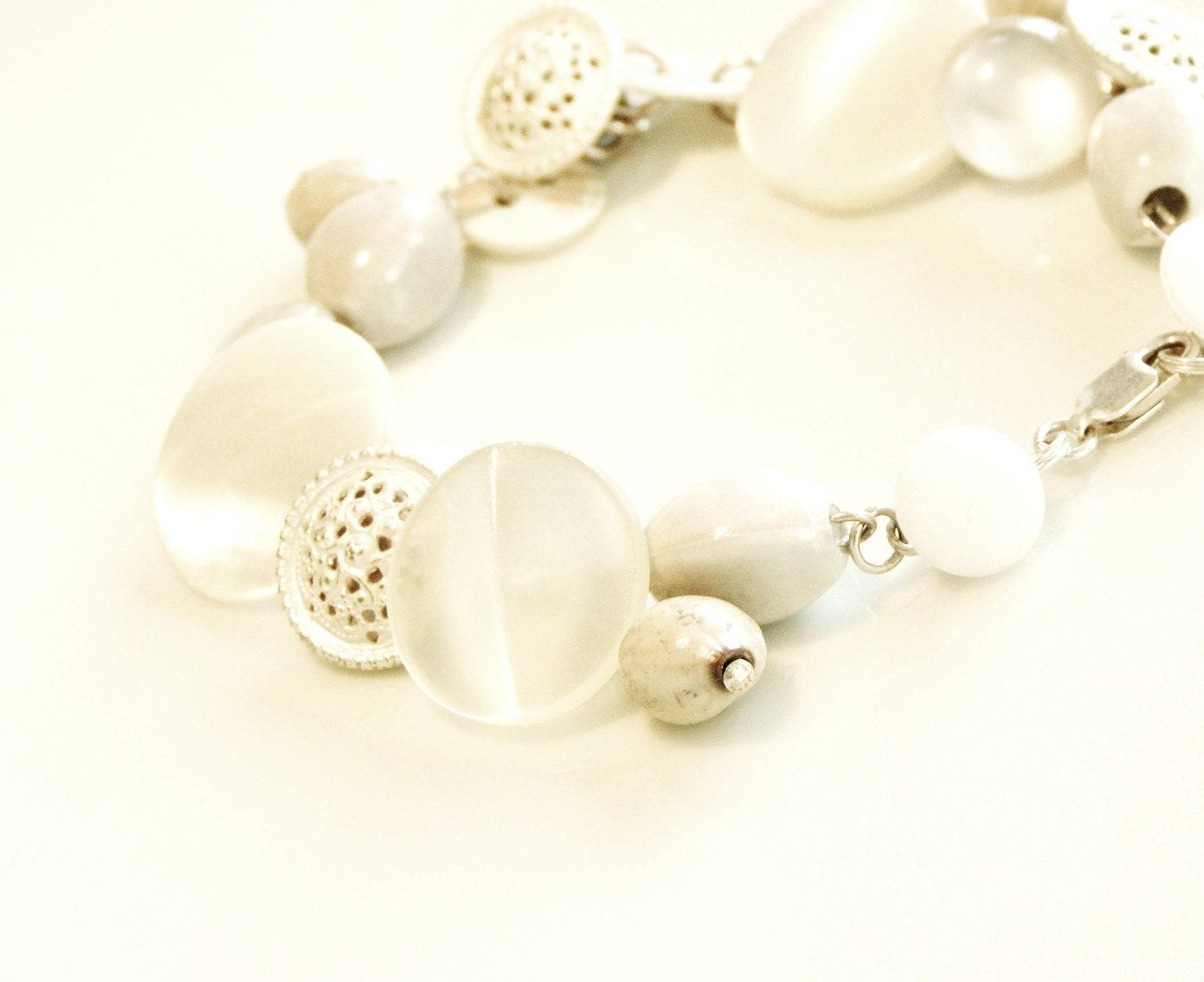 armband 'White Nights'