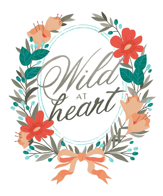 Wild at Heart Print - smalltalkstudio