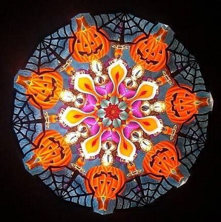 BOO - Limited edition Halloween Kaleidoscope
