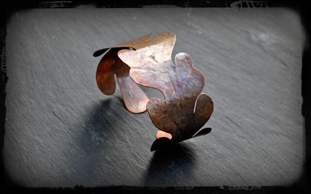 Pin Oak Cuff