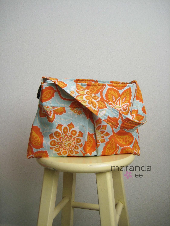 SALE Floral Amber Chloe bag by maranda lee
