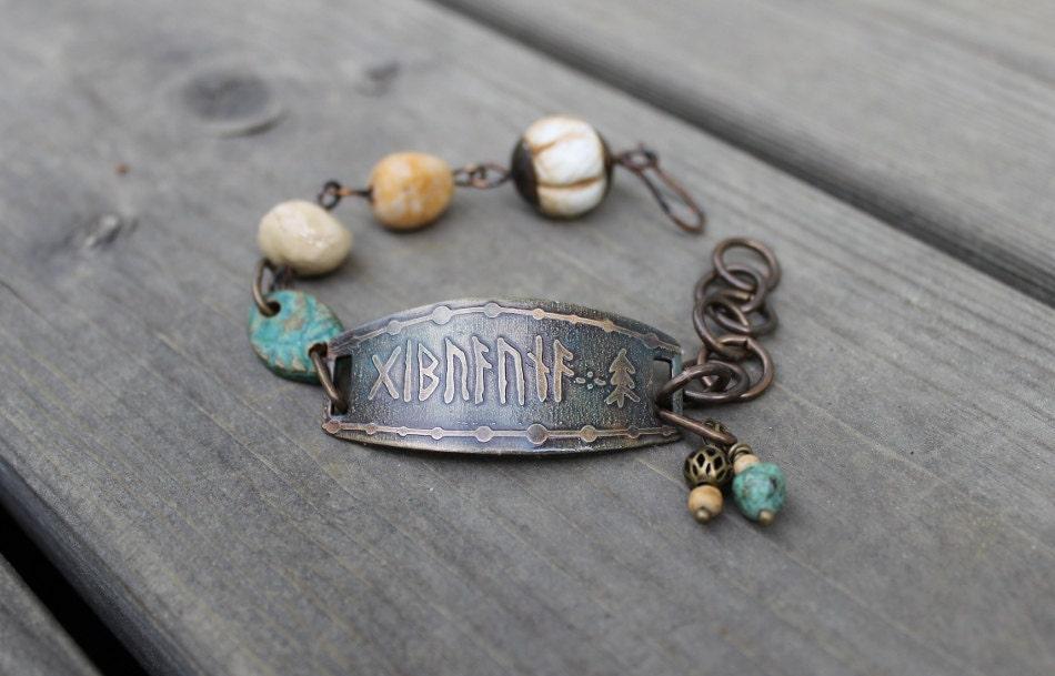 Good luck runic bracelet