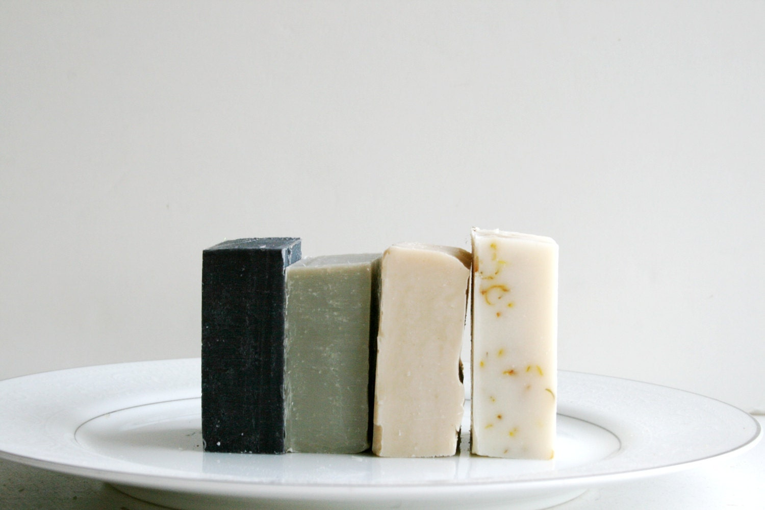 Travel Soap - 4 Natural Soap Bars - Handmade Soap, Essential Oil Soap - ElegantRoseBoutique