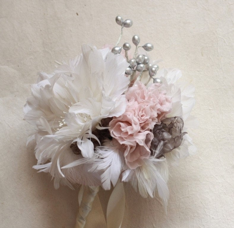 3 eBOOK Tutorials Feather Flower Bouquet with Fabric Flower  and Berry Fillers with Headband and Accessories Tutorials - ($20)