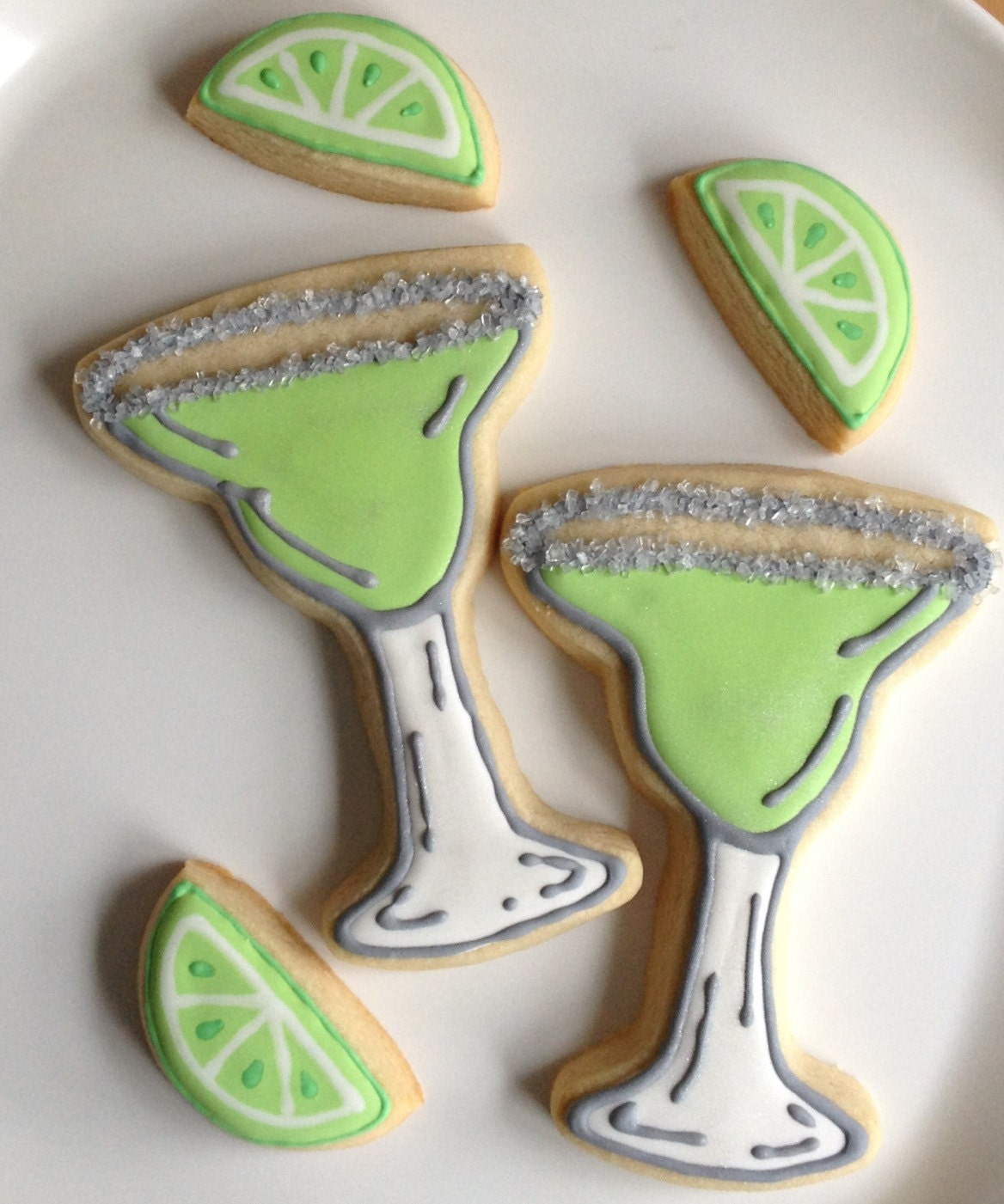 Fiesta Margarita Glass Cookies - 1 Dozen Plus