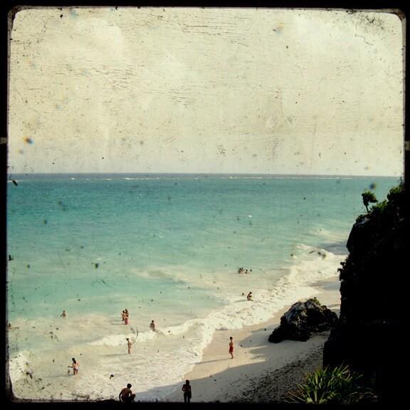 Paradise 5 - Мексика стока - художественной фотографией - Пляж Декор - Мексика Фото