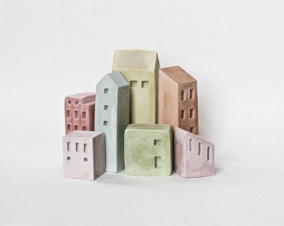 Cinque Terre, Italy architectural sculpture - Laurie Poast - Artisanie Europe - POAST