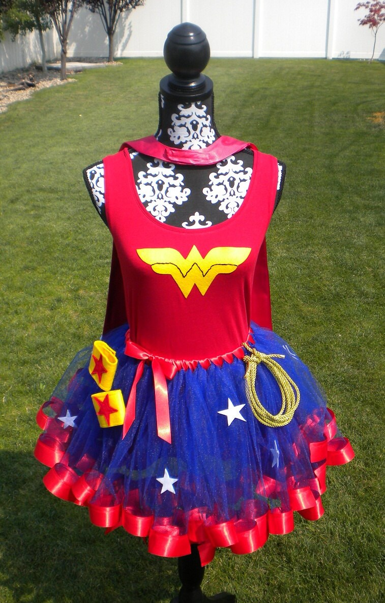 Cool etsy thing wonder woman costume with tutu the feminine cool etsy thing wonder woman costume with tutu the feminine miss geek solutioingenieria Image collections