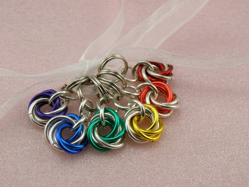 Best Knitting Stitch Markers : Shop Etsy: Colorful Stitch Markers!