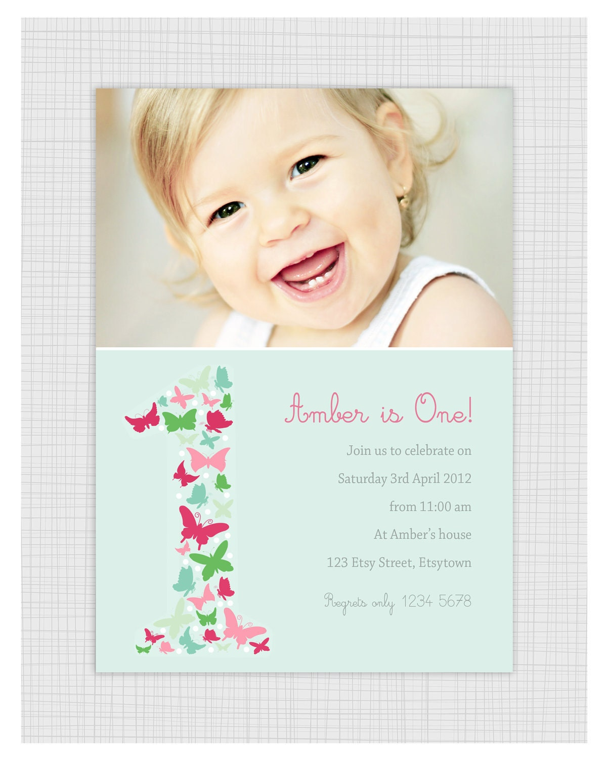 1st Birthday Thank You Card direction cards for wedding – First Birthday Thank You Cards