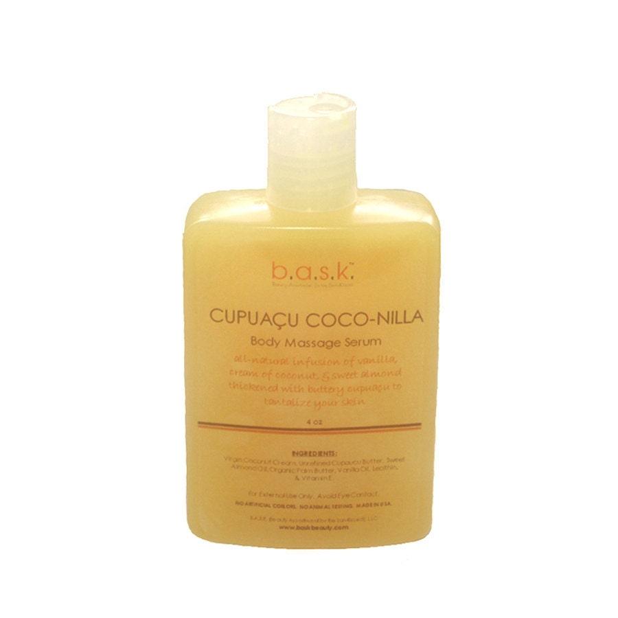 Cupuaçu Coco-Nilla Body Massage Serum - 4 oz