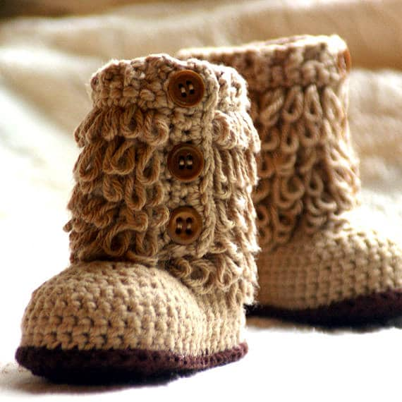 Baby Shoe Crochet Pattern Easy On Loafers by TwoGirlsPatterns