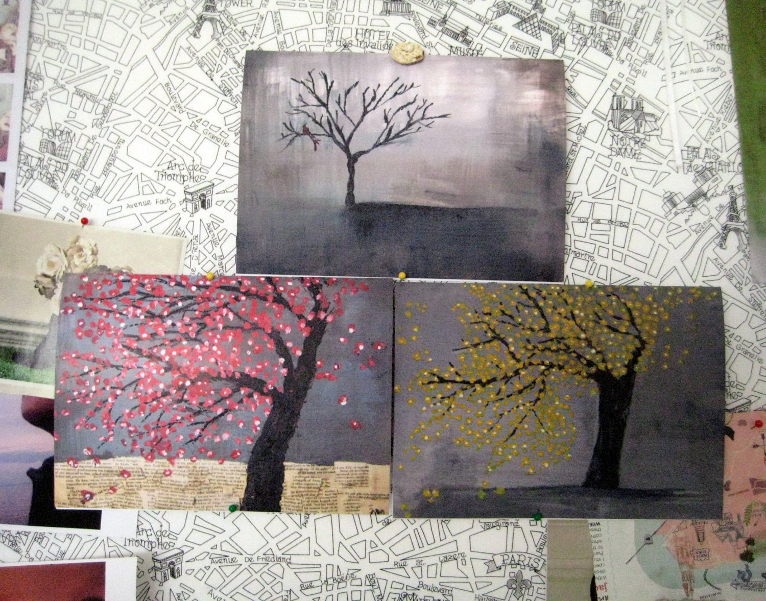 Tree Series Note Cards Gift Set