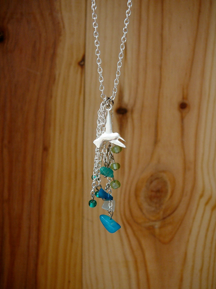 Birds In Flight Necklace - infiniteabyss
