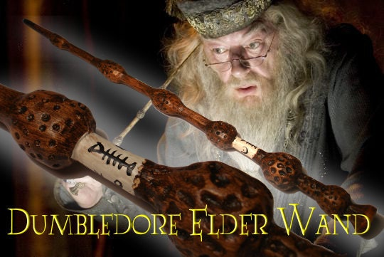 Dumbledore Elder Wand superior replica Harry Potter