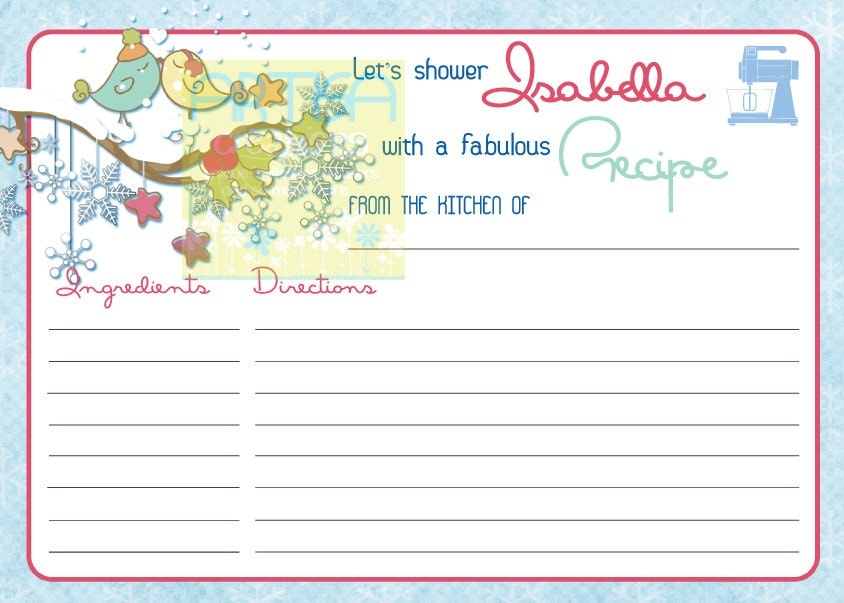 ... bridal shower recipe impressiveinscriptions with wedding and bridal