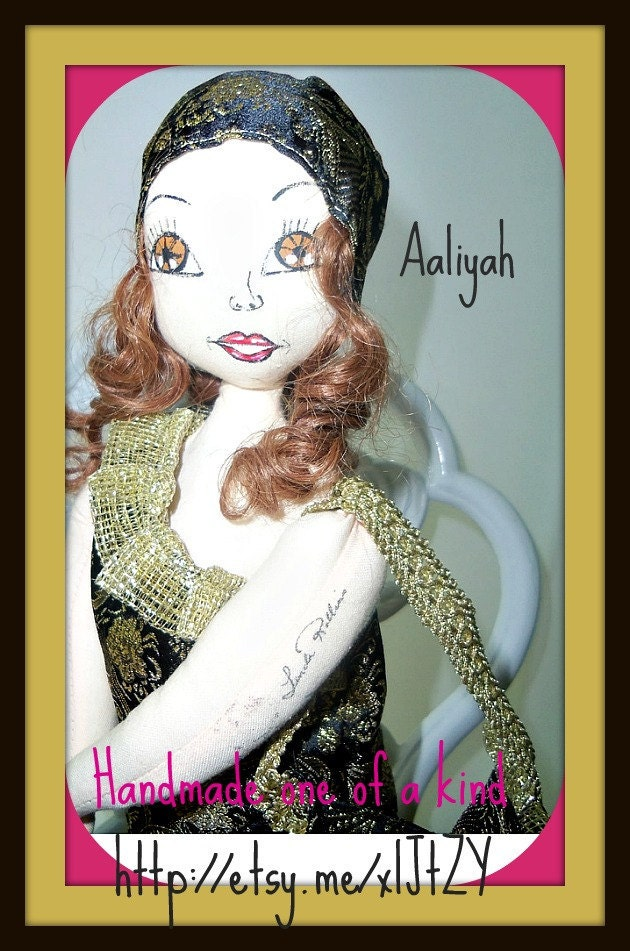 Art sculpture ooak doll 16 inches