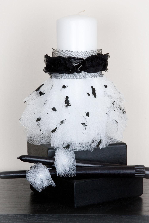 Установить единства Свеча - Couture малярные Splatter платье