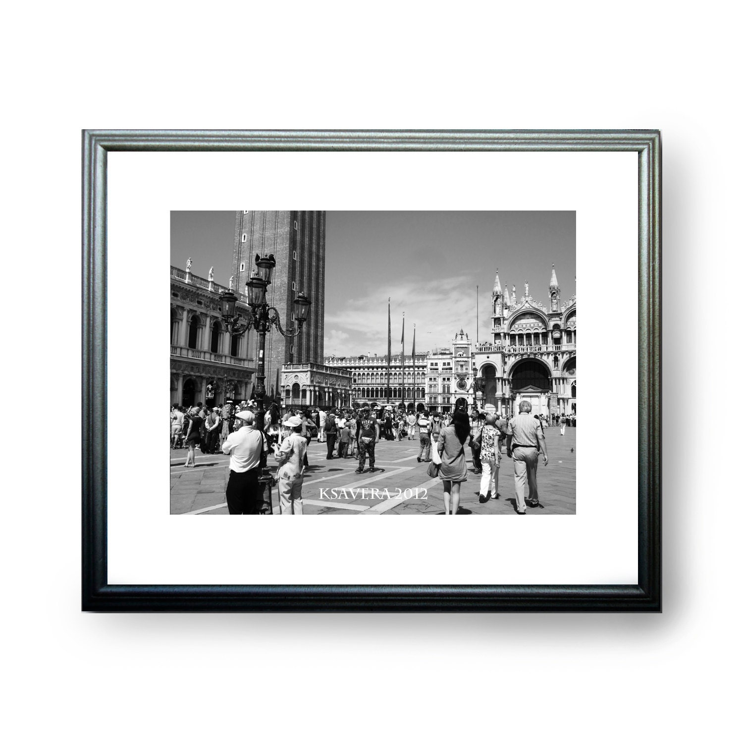 Venice Photography Collection black and white photo V14 Monochromatic venetian fine art wall decor KSAVERA JPEG via E-mail Printable - KsaveraART