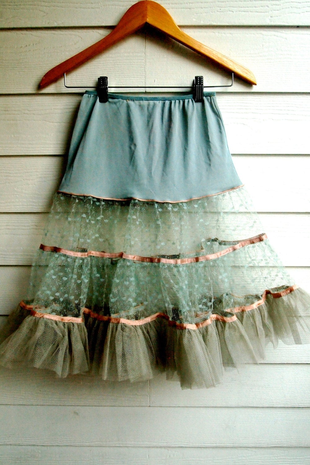 how to make a layered petticoat