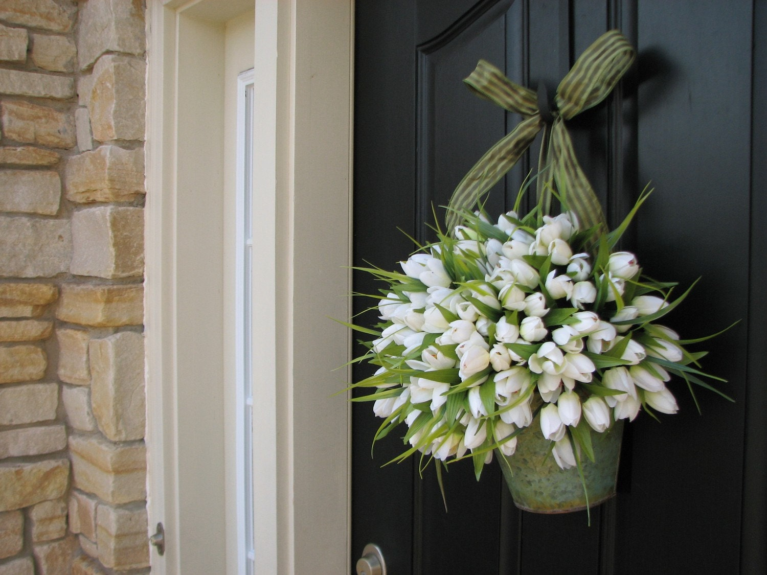 Make A Wreath For Spring Lots Of Ideas Its Overflowing