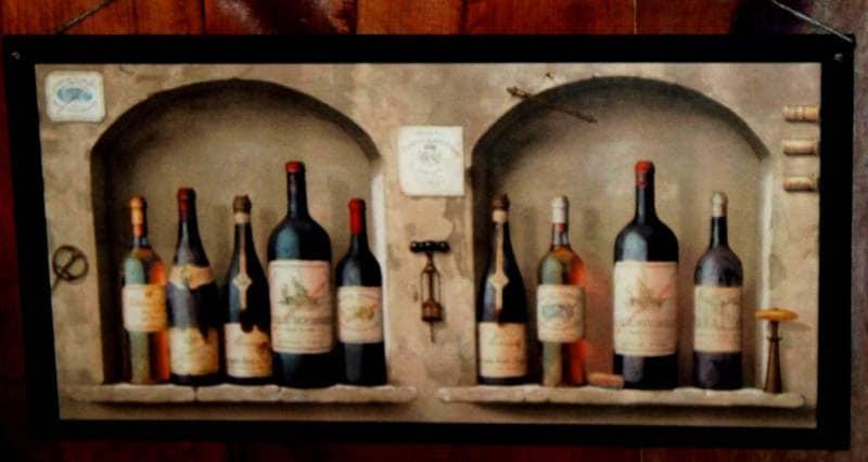 BIG Wine Lovers Kitchen Wall Decor Plaque By Ozarkmtnhomestead