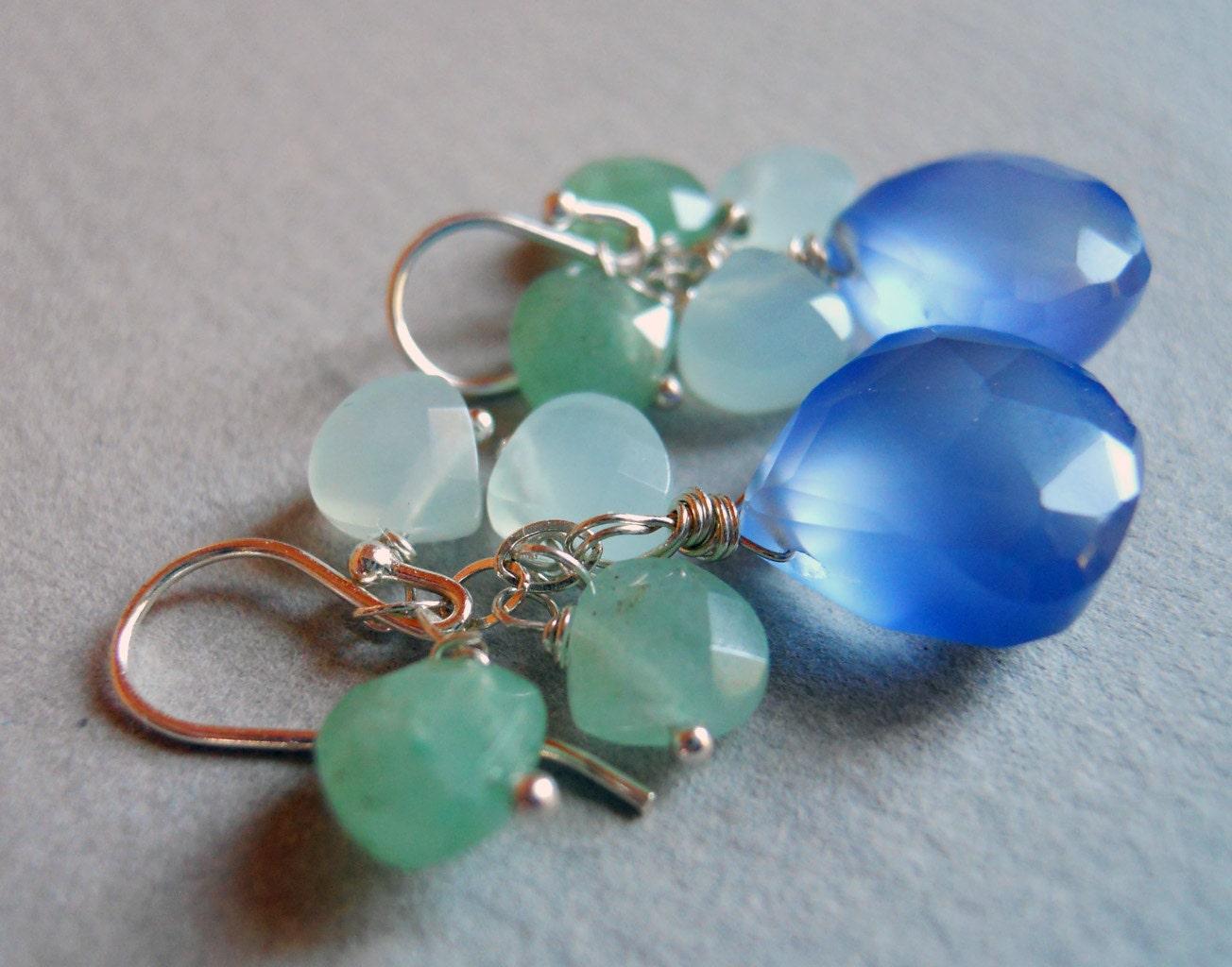 Hydrangea Heaven Earrings - $44.00 USD