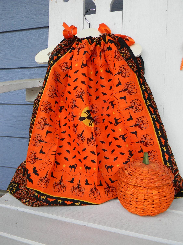 Handkercheif Dress - Halloween
