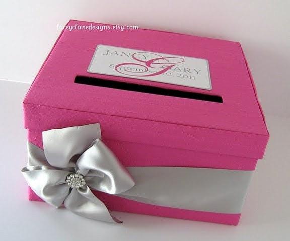 Custom Wedding Card Boxes Wedding Gift Card Box Wedding Card Holder Money