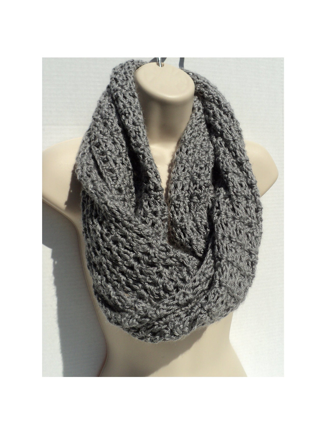 Crochet Patterns Neck Scarves : Crochet Scarf PATTERN PDF Format Pattern Neck Warmer Pattern Neck ...
