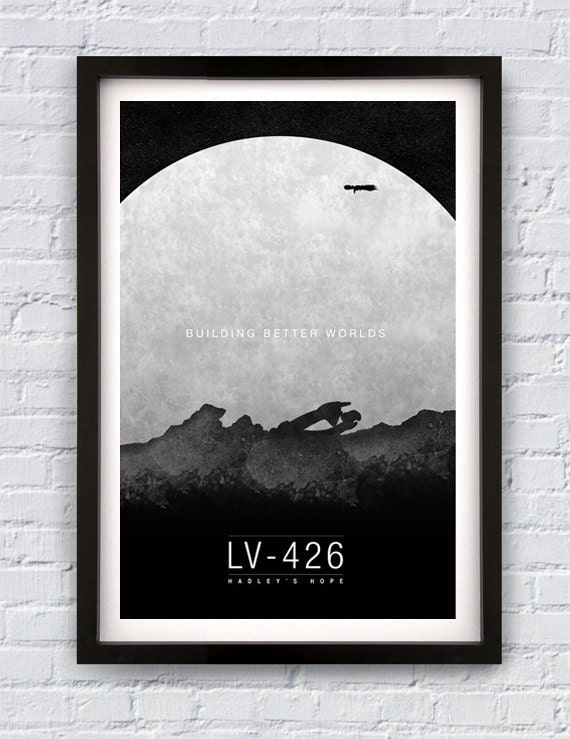 Aliens Movie Travel Poster Print 11X17""