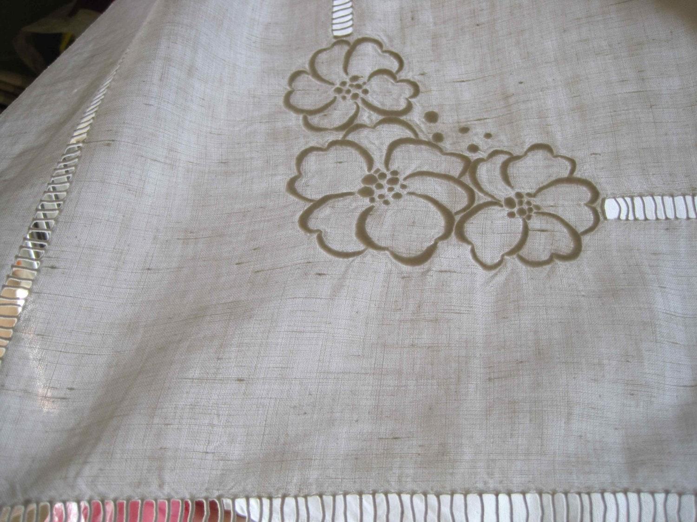 pure linen sheeting