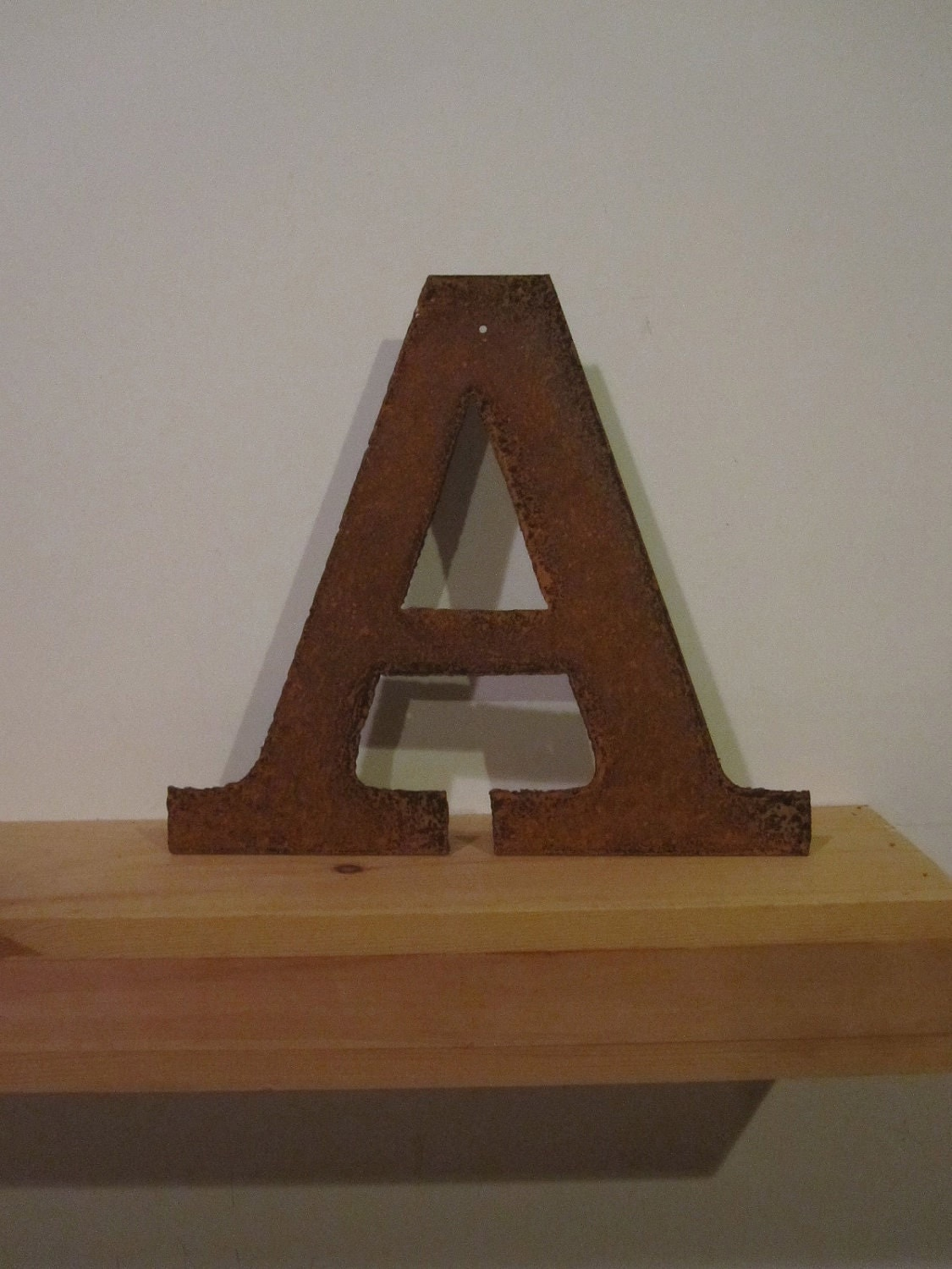 "Metal letter ""A"" or any letter A-Z - theshack"