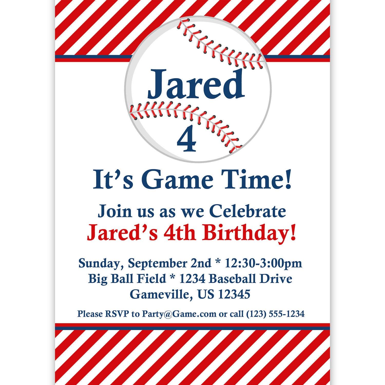 Baseball Invitation Wording was beautiful invitation design